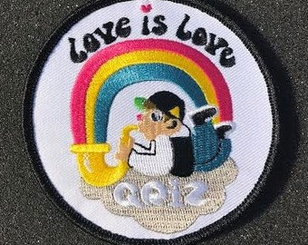 GRIZ Love is Love Patch