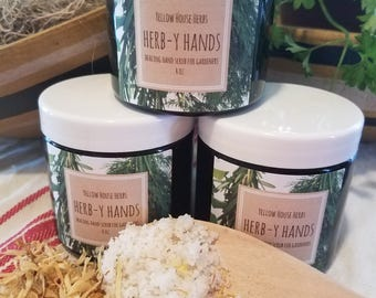 Herb-Y Hands Healing Hand Scrub for Gardeners