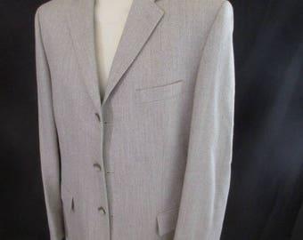 Emmanuelle KHANH gray size 52 jacket to-60%