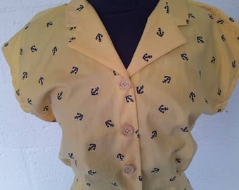 1940's  Summer Blouse