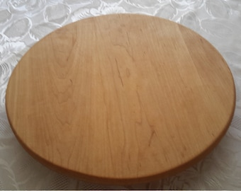 "Cherry Lazy Susan Turntable - 12"" - 16"""