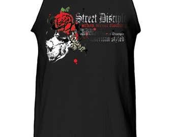 Street Disciple Skull Tank Top