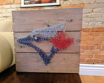 Blue Jays String Art