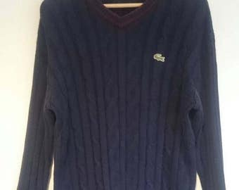 Lacoste sweater sport vintage