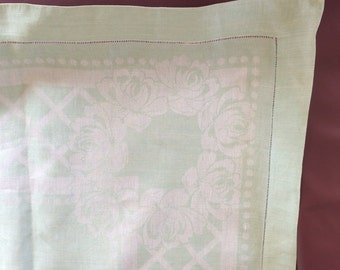 Vintage Green Table Linen