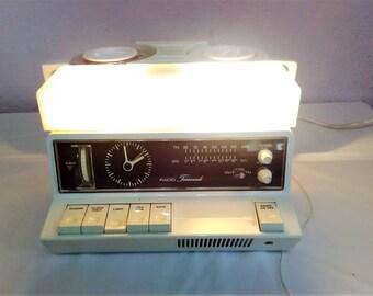 Vintage 1970's GOBLIN TEASMADE Clock & Radio Alarm Retro in VGC