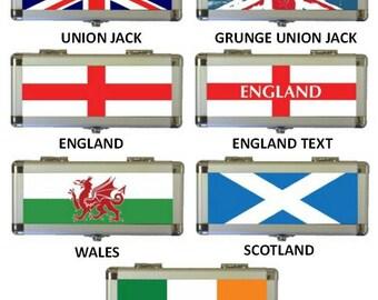 National Flag Aluminium Dart Case