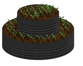 Two-Tiered Garden Combo
