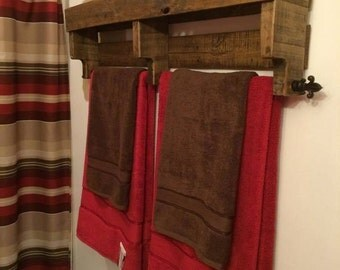 Reclaimed Towel Rack