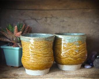 Handmade Japanese Teacups - Meoto Yunomi