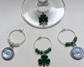 Irish Wine Charms