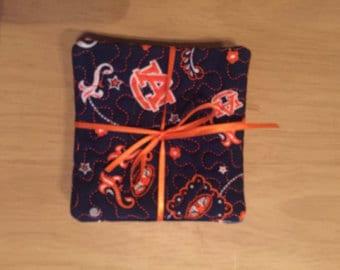 Auburn Coasters set of 4