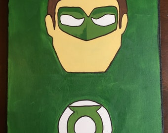 Green Lantern Wall hanging