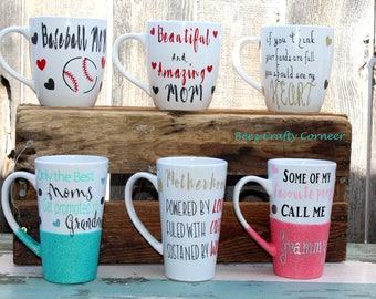 Hand-Decorated Mugs