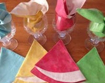 Table napkins for the Spring and Summer Season,
