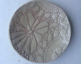 Lace Jewelry Bowl