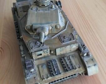 Custom built 1/35 Tamiya Panzer IV Ausf D