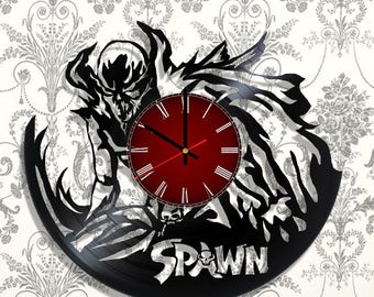 Spawn Wall clock with original design