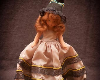 Nancy Ann Storybook Doll October Witch