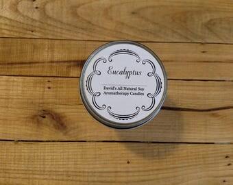 Soy Eucalyptus Aromatherapy Candle