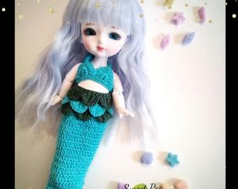 Little Mermaid Set for Lati y