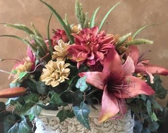 Small Tuscan Floral Arrangement