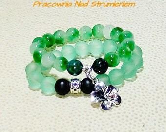 Bracelet with jade