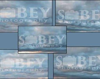 Cloudy Sky Overlay