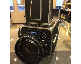 Hasselblad 500CM + 80mm F/2.8 Planar T*+ A12 film back set
