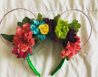Custom Floral Ears