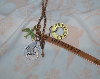 Perfectly Imperfect Charm Necklace