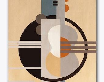 SPANISH GUITAR - Handpainted artwork