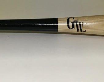 Good Wood Wooden Baseball bat