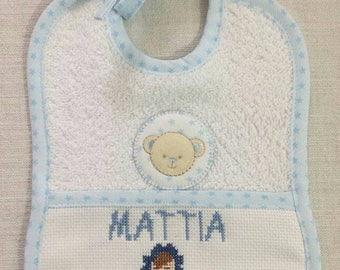Bibs baby cross stitch patterns