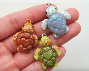 Hand Sculpted Clay Charms Etc.