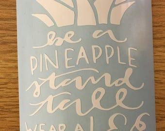 Pineapple Quote Sticker