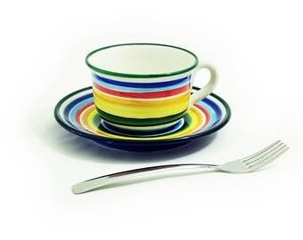 Classic breakfast Cup big Rainbow