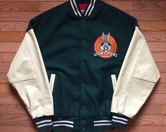 1990 Looney Tunes Letterman Jacket