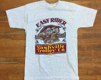 Easy Rider Nashville Trolley Co T Shirt