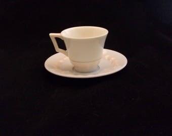 Beautiful Vintage Lenox Demitasse Cup and Saucer