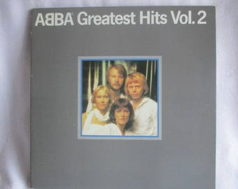 ABBA Greatest Hits Vol. 2 Gatefold LP XSD 16009 Stereo Atlantic Recording Company