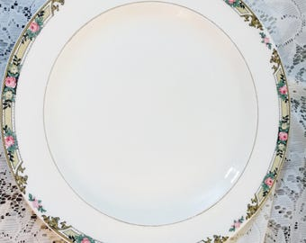 Hard To Find Vintage Dinner Plates In MTC132 Pattern by Mount Clemens - Set of 3