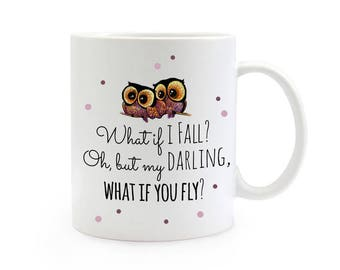 Gift Cup owls love coffee mug TS318