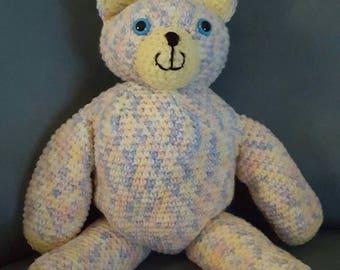 Hand crocheted Teddy Bears
