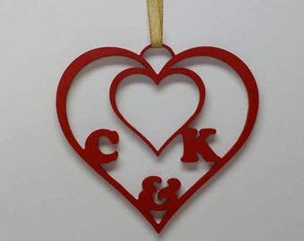 Custom wooden hanging/ standing love sign