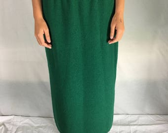 Size 18 Angora and Lambswool NZ Long Skirt