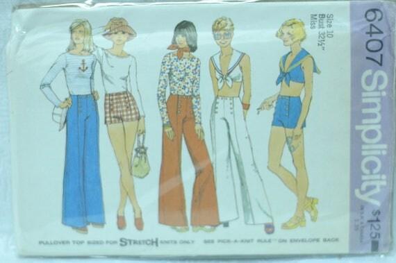 Simplicity 6407 Sailor girls