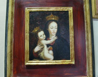 PAINTING MADONNA with child