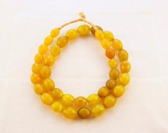 Bohemian Egg Trade Beads