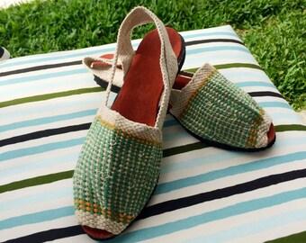 SALE, SALE !! Alpargatas -  Espadrilles - Espartenas - Women's Shoes - Summer Shoes - Beach Footware - Artisan Shoes - Handmade Shoes